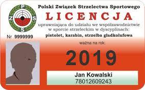 LICENCJA KLUBOWA 2019